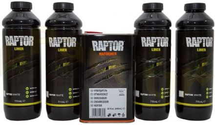Raptor 4 litre kit